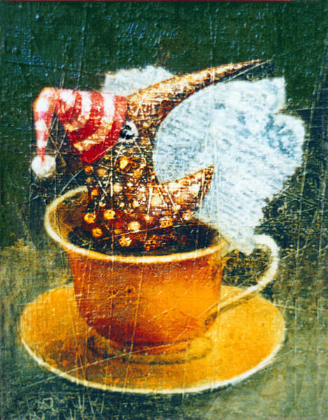 Wall Art - Painting - Coffee Time by Lolita Bronzini