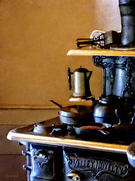 Photograph - Coffeepot On Stove by Susan Savad