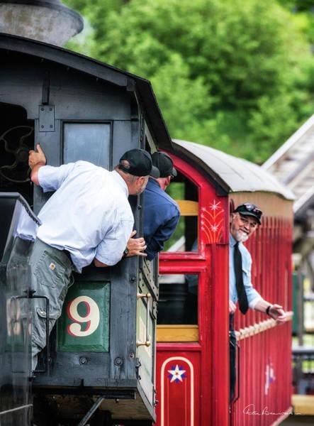 Photograph - Cog Railway 7692 by Dan Beauvais