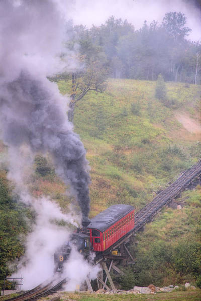 Photograph - Cog Railway Car by Natalie Rotman Cote
