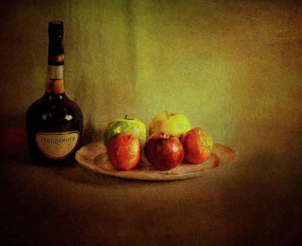 Cognac And Fruits Art Print
