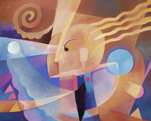 Homo Painting - Cognition Ecce Homo by Lutz Baar