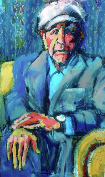 Painting - Cohen by Les Leffingwell