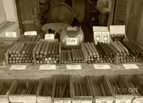 Stores Photograph - Cohiba by Debbi Granruth