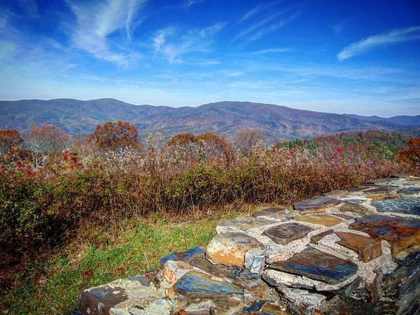 Photograph - Cohutta Overlook by Richard Parks