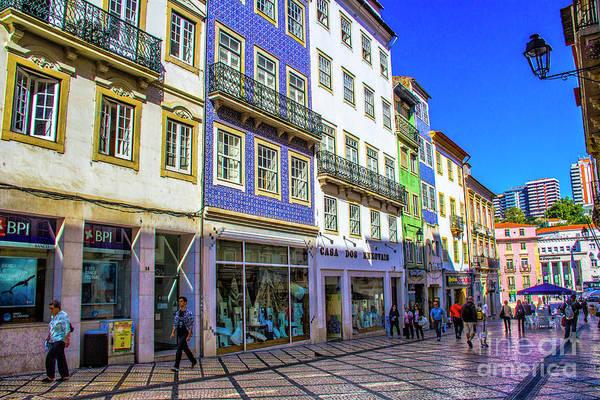 Wall Art - Photograph - Coimbra Business District by Roberta Bragan