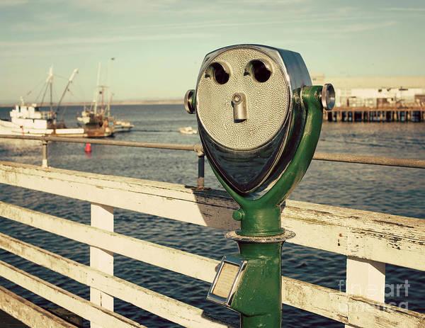 Seacoast Photograph - Coin-operated Binoculars by Juli Scalzi