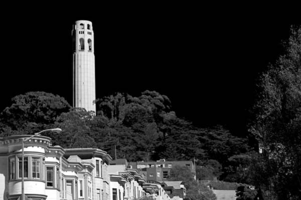 Coit Tower Photograph - Coit Tower by Anthony Citro