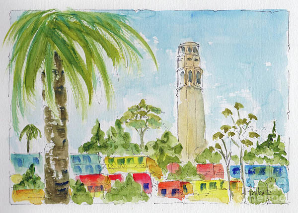Painting - Coit Tower by Pat Katz