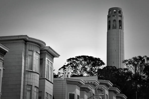 Photograph - Coit Tower by Spencer Hughes