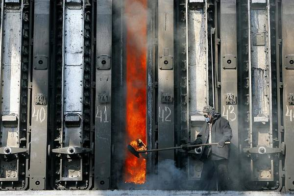 Wall Art - Photograph - Coke-making Ovens by Ria Novosti