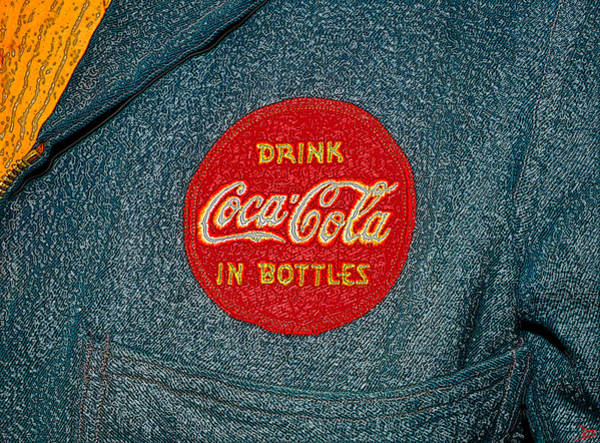 Coca Cola Painting - Coke Patch 1950s by David Lee Thompson