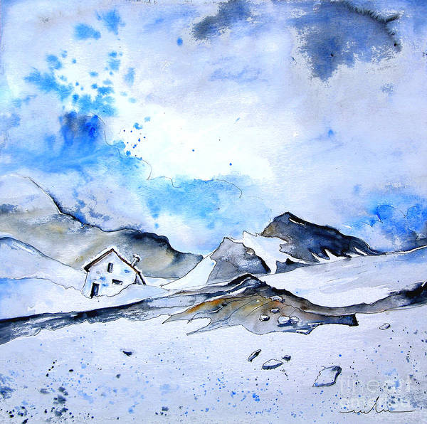 Painting - Col Du Pourtalet In The Pyrenees 01 by Miki De Goodaboom