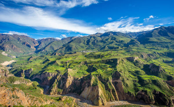 Photograph - Colca Canyon Peru by Gary Gillette