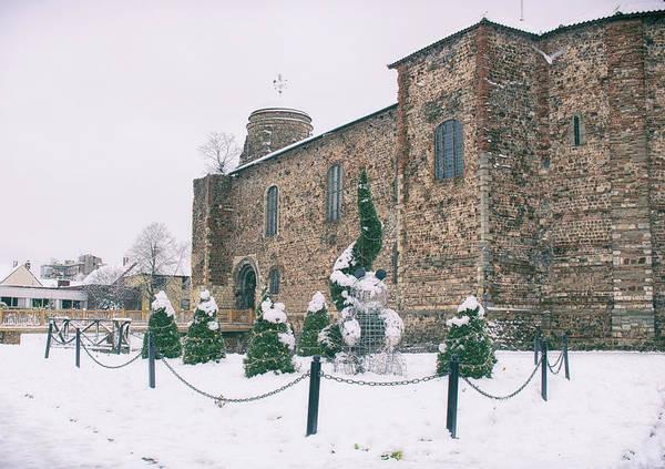 Castle Garden Photograph - Colchester Castle by Martin Newman