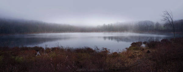 Pond Photograph - Cold And Misty Morning... by Jerry LoFaro