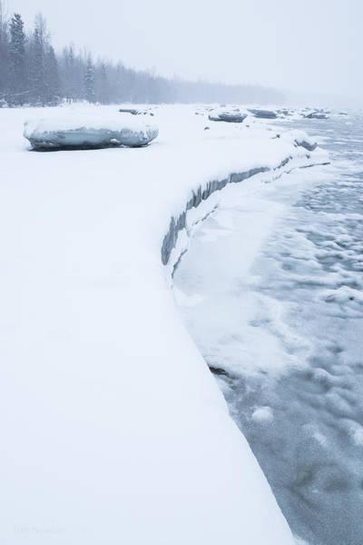 Photograph - Cold Coast by Tim Newton