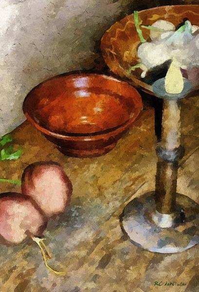 Painting - Cold Comfort Kitchen by RC DeWinter