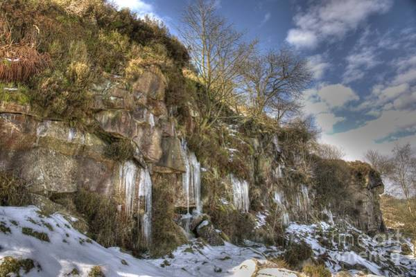 Photograph - Cold Day In The Valley 5 by David Birchall