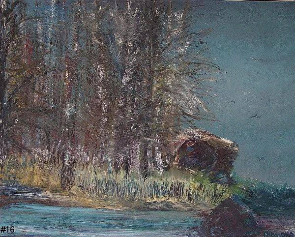 Painting - Cold Flight by Jack Diamond