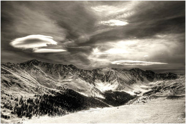Photograph - Cold Front On The Continental Divide by Wayne King