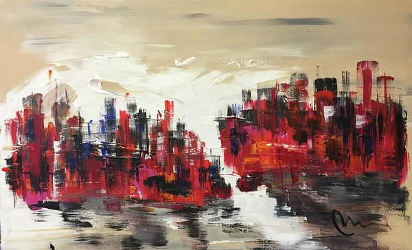 Wall Art - Painting - Cold Morning Dawn by Mac Worthington
