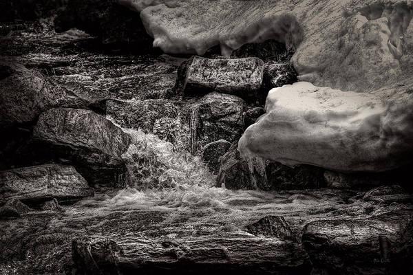 Photograph - Cold Mountain Stream by Bob Orsillo