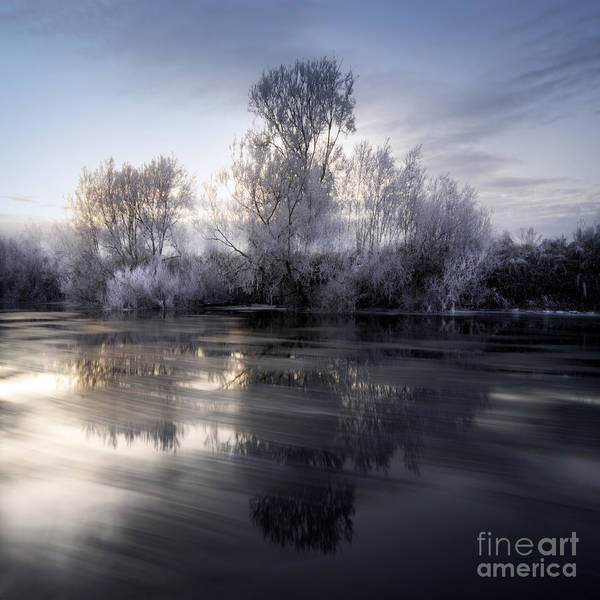 Wall Art - Photograph - Cold River Flows by Angel Ciesniarska