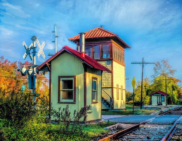 Photograph - Cold Springs Station by Nick Zelinsky