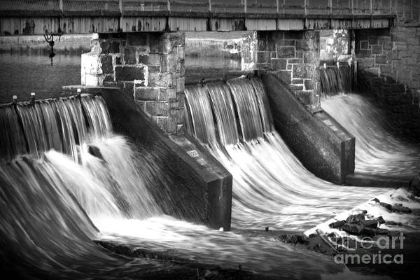 Photograph - Cold Stream Dam by E B Schmidt