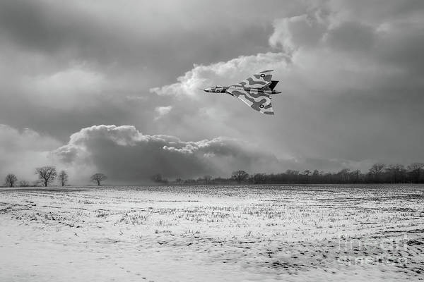 Photograph - Cold War Warrior Bw Version by Gary Eason