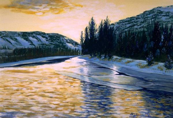 Painting - Cold Water by Barbel Smith
