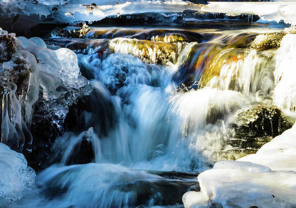 Photograph - Cold Water Fall by Robert McKay Jones