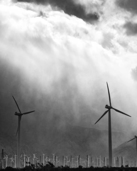 Rancho Mirage Photograph - Cold Wind Palm Springs by William Dey