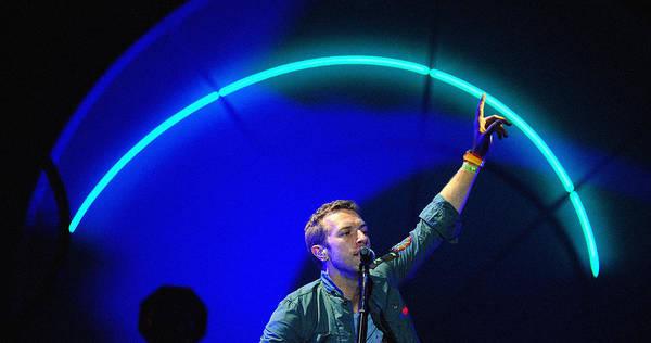 Coldplay Photograph - Coldplay3 by Rafa Rivas