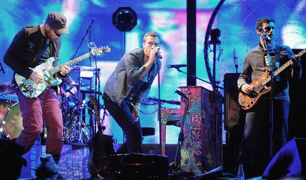 Coldplay Photograph - Coldplay7 by Rafa Rivas