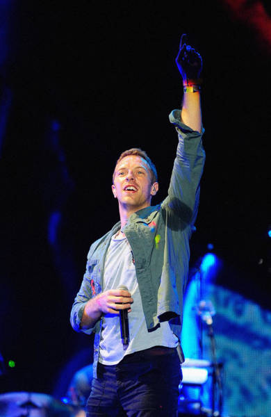 Coldplay Photograph - Coldplay8 by Rafa Rivas