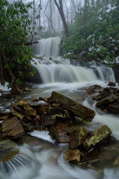 Somerset County Photograph - Cole Run Falls by Clare Kaczmarek