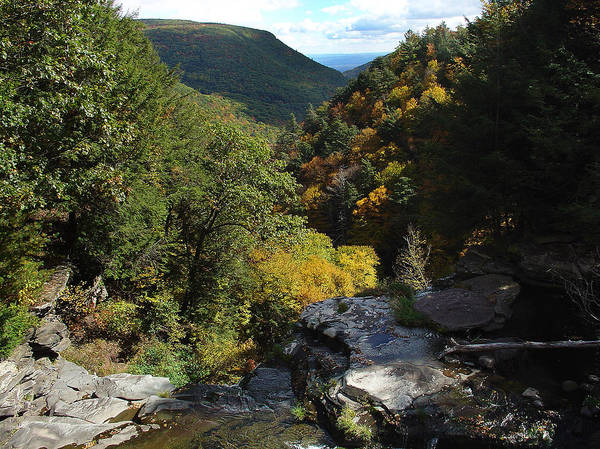 Kaaterskill Clove Photograph - Cole's Roost The Kaaterskill Clove by Terrance De Pietro
