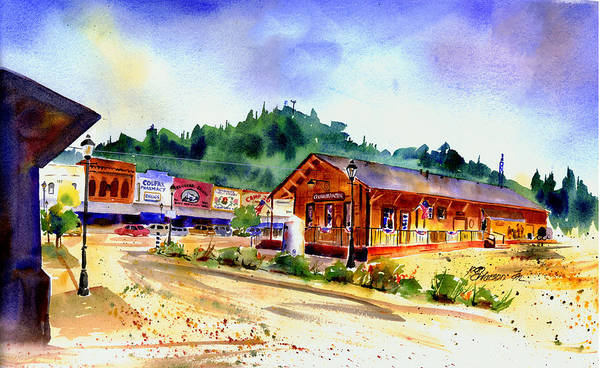Painting - Colfax Rr Junction by Joan Chlarson