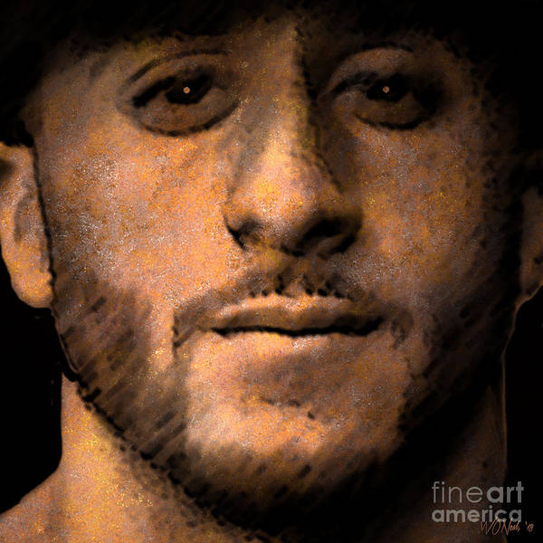 Digital Art - Colin Kaepernick by Walter Neal