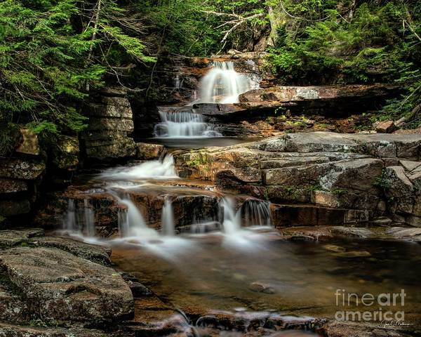 Bemis Photograph - Coliseum Falls - Bemis Brook by Jan Mulherin