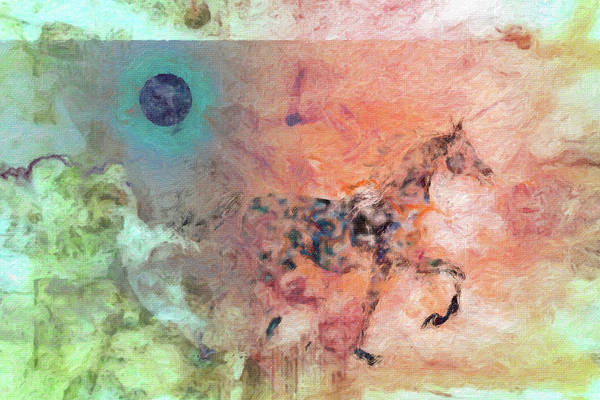 Eclipse Mixed Media - Collage 7 by Priscilla Huber