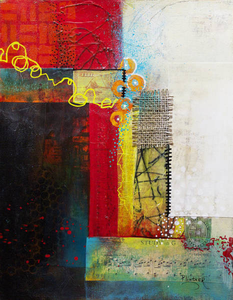 Wall Art - Painting - Collage Art 1 by Patricia Lintner