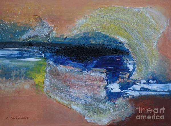 Painting - Mixed Media - Lava by Jean Clarke