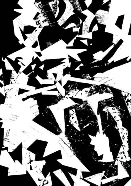 Barcode Digital Art - Collage Lion  by George Carpenter