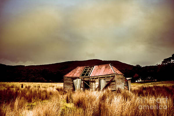 Wall Art - Photograph - Collapsing Old Wooden Farm Building by Jorgo Photography - Wall Art Gallery