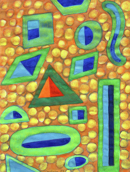 Similar Painting - Collection Of Different Shapes With Double Fillings by Heidi Capitaine