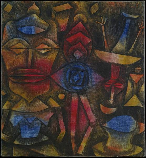 Painting - Collection Of Figurines by Paul Klee