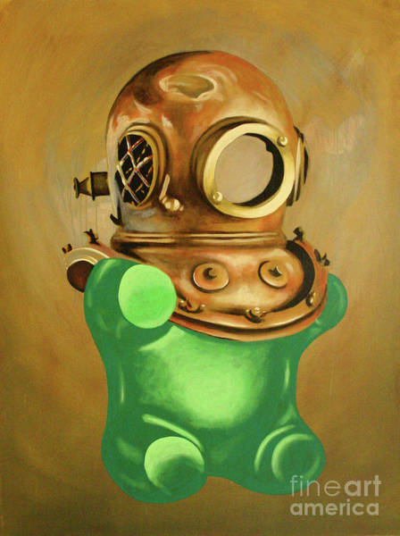 Gummy Bear Painting - Collector by Derek Smith